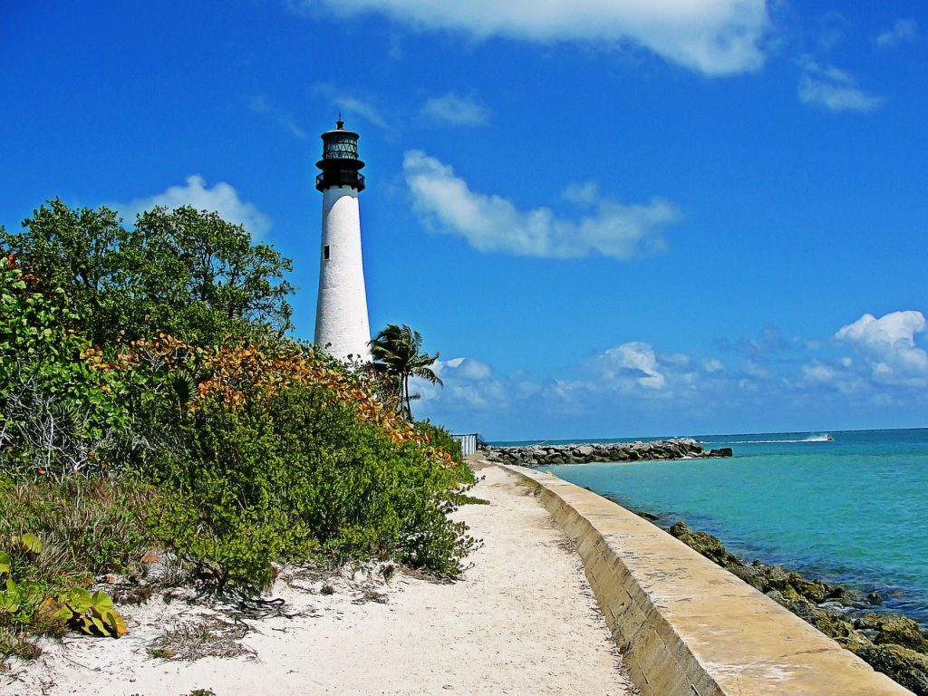 lighthouse - key biscayne