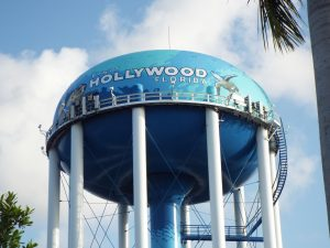 Water Tank. Moving from Miami to Hollywood is challenging. From a big city to small