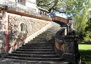 Stairs in Vizcaya complex