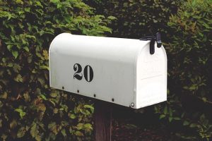 A mailbox in one of the best Miami neighborhoods for families with children.