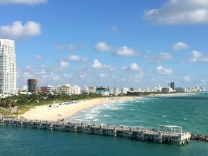 After you move to Miami you should go to Miami Beach.
