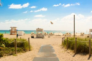beach in miami - moving to miami with a big family