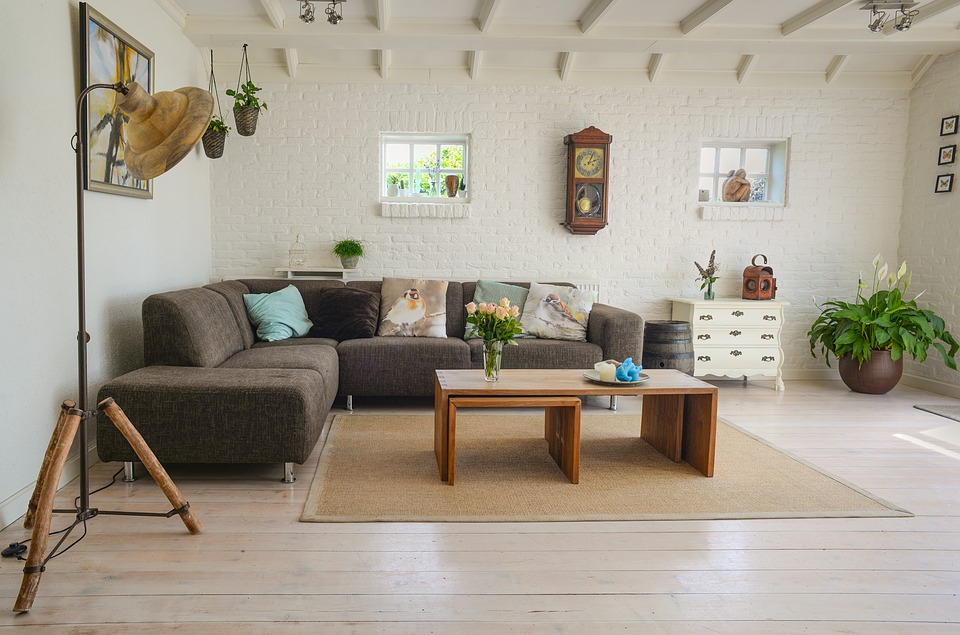 Making a living room look stylish is one of the best home staging hacks?