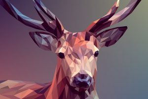 Deer, polygons, art - To avoid the risks of DIY relocation of artwork, you need to know how to prepare.