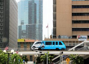 Metromover as part of the best things to do in Miami for free.