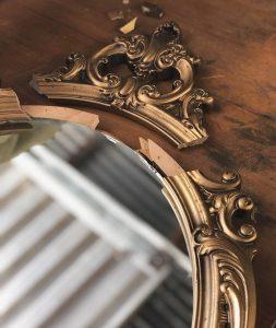 A mirror.