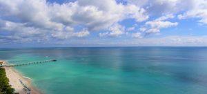 A beach on the Atlantic Ocean.