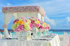 A dream wedding in Miami organized on the beach.
