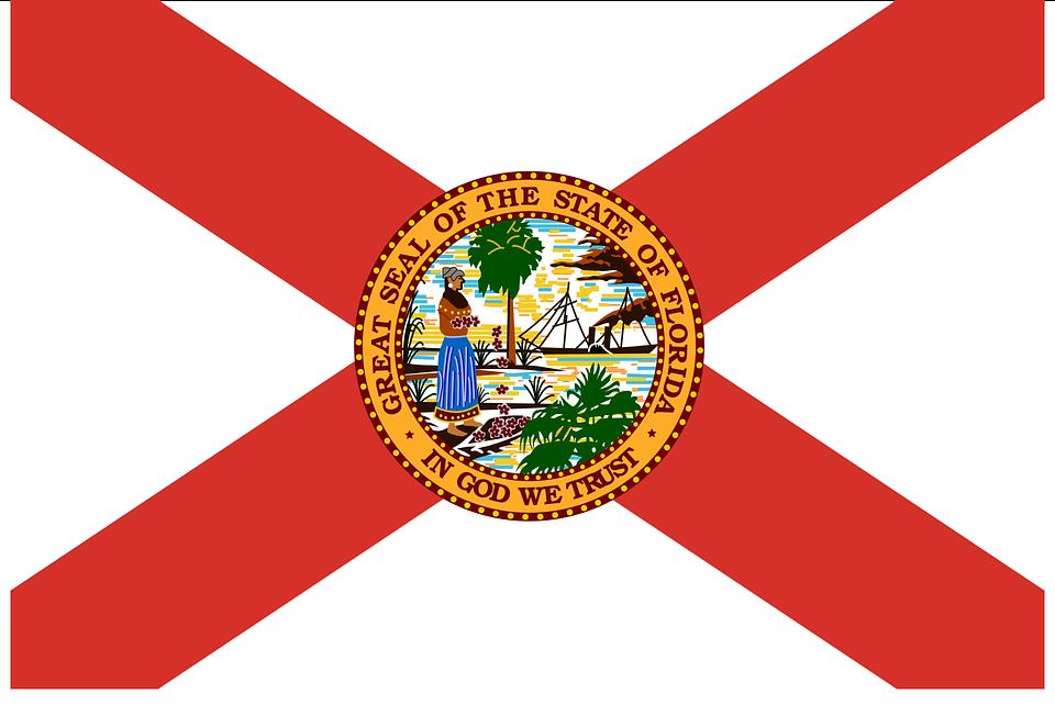 A Florida flag