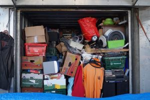 Overflowing storage unit is not a way to save money on a Miami storage unit