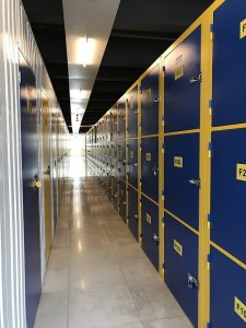 Mini storage unit facility