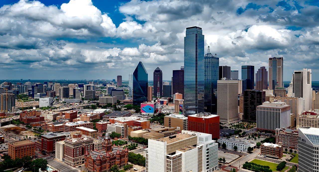 A view of Dallas, one of the best cities of Texas.