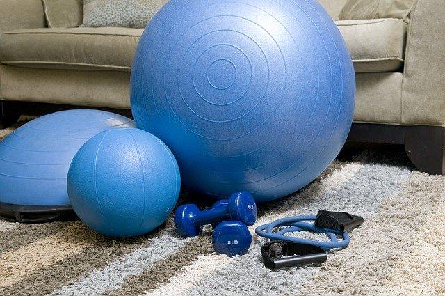 Home gym equipment.