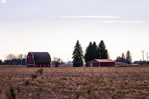 Farm in Idaho.