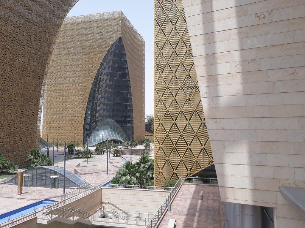 Expereince modern architecture of Riyadh when leaving Florida for Saudi Arabia