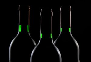 Bottles of wine as alcohol is one of the items that cannot be imported to the U.S.