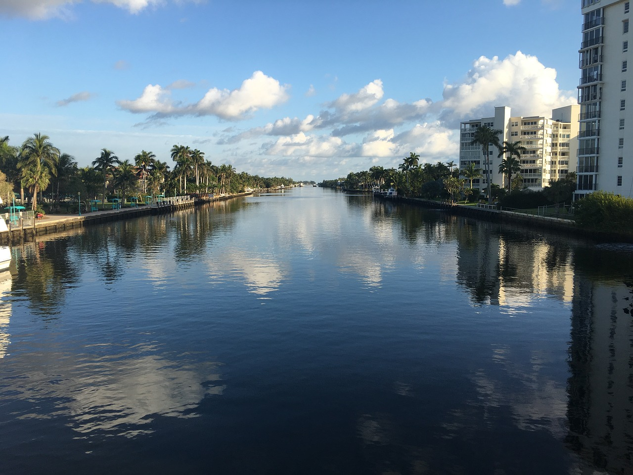 A view of Delray Beach