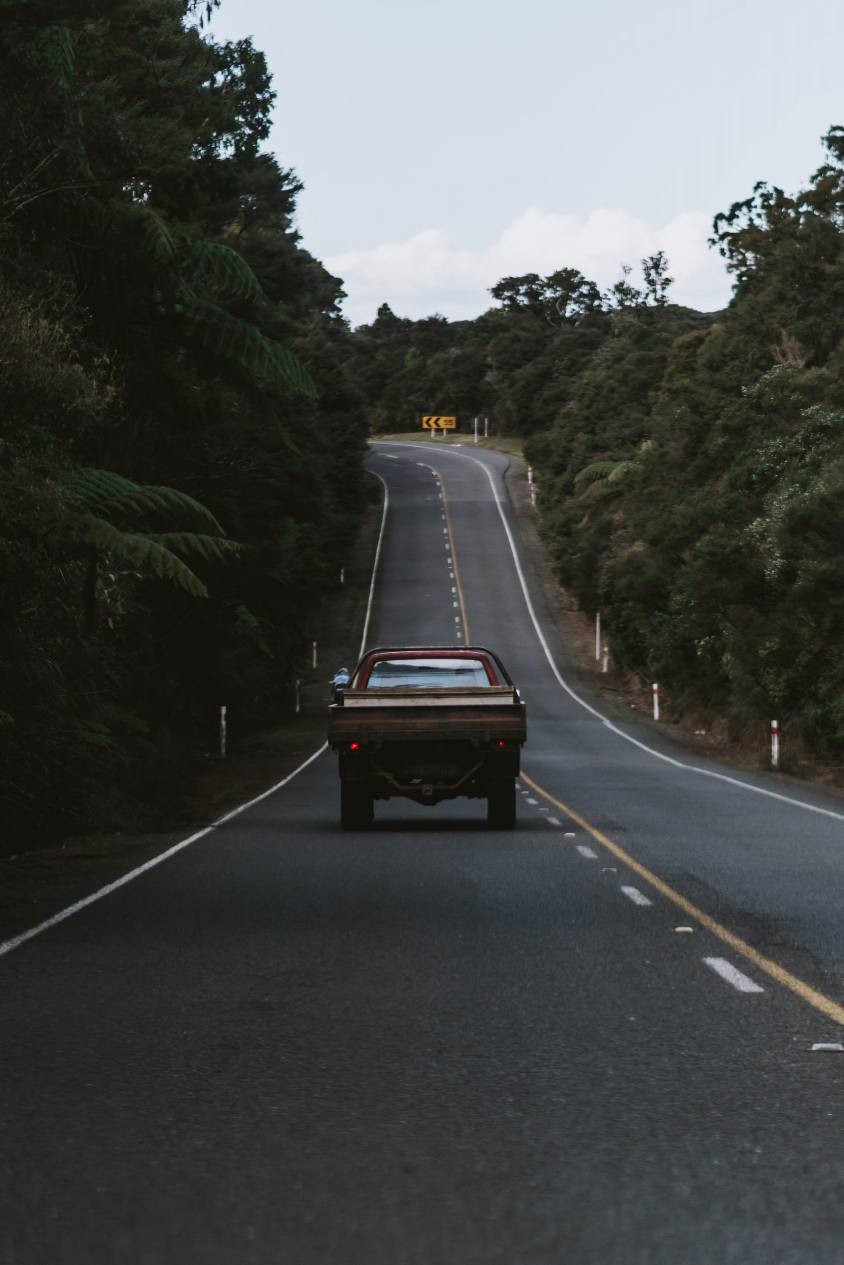 A car on the road