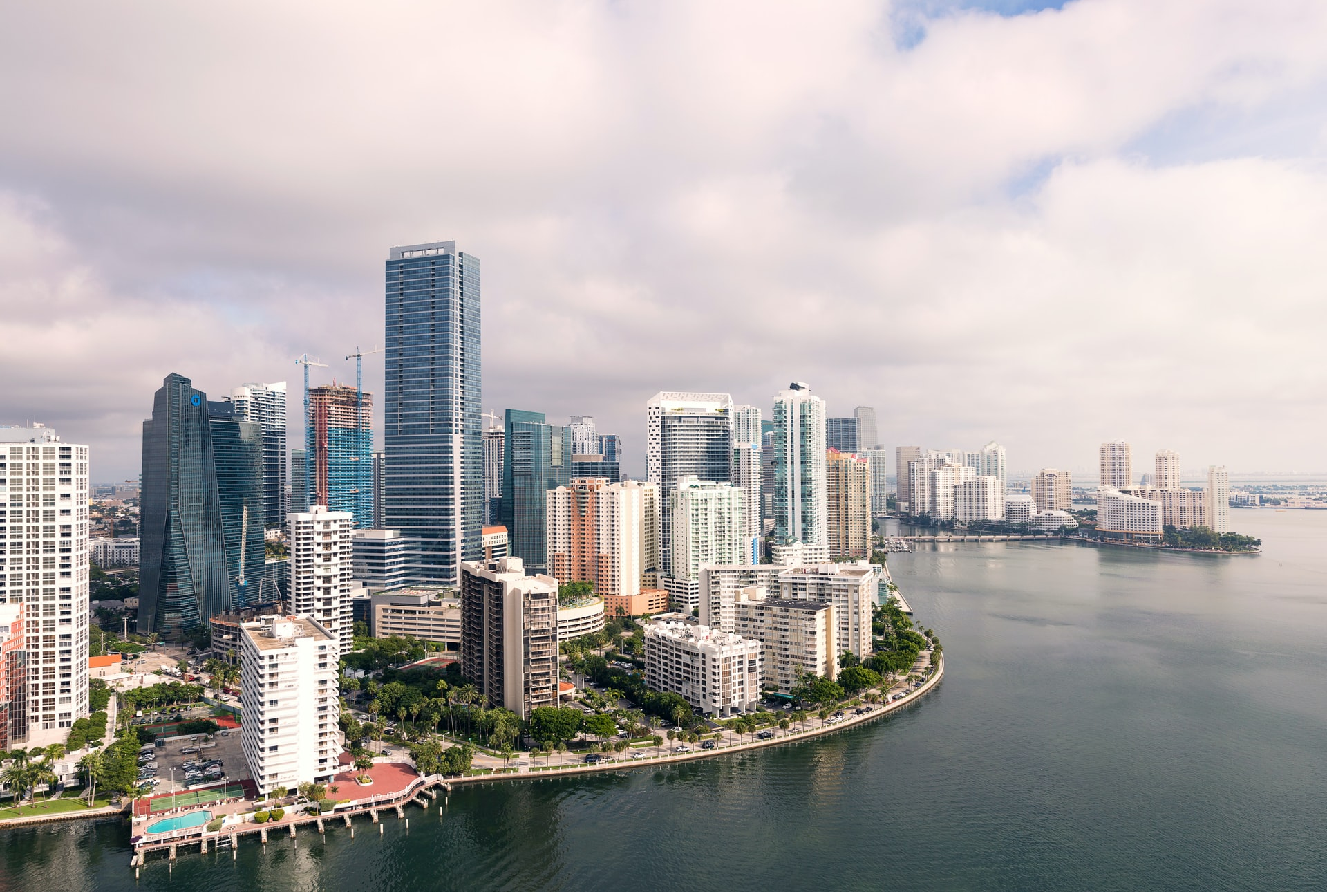 An image of Miami, a good reason for moving from Seattle to Miami is the sunshine