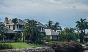 A beach home in Florida